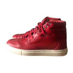 Sneakers BALENCIAGA Rouge blanc