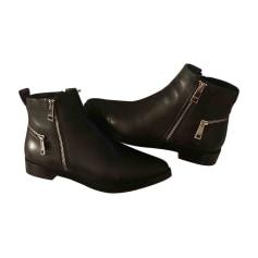 High Heel Ankle Boots KENZO Black