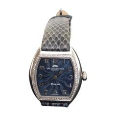 Wrist Watch VAN DER BAUWEDE Blue, navy, turquoise