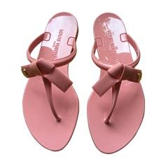Flip Flops LOUIS VUITTON Pink, fuchsia, light pink