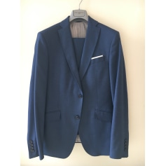 Costume complet ZARA Bleu, bleu marine, bleu turquoise