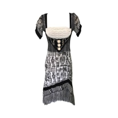 Midi Dress SAVE THE QUEEN Black