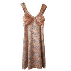 Robe mi-longue SPORTMAX abricot