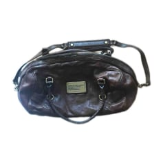 Leather Oversize Bag MARC JACOBS Brown