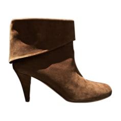 Bottines & low boots à talons BALLY Beige, camel