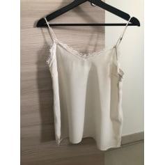 Top, tee-shirt ANINE BING Blanc, blanc cassé, écru
