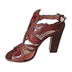 Sandales à talons JIMMY CHOO Multicouleur