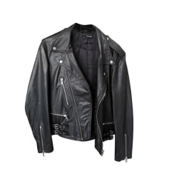 Lederjacke THE KOOPLES Schwarz