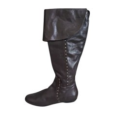 Flat Boots DIOR Brown
