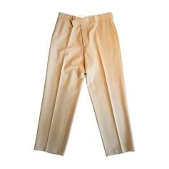 Pantalone dritto HUGO BOSS Beige, cammello