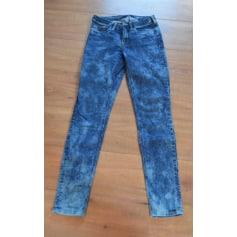 Jeans slim MAISON SCOTCH Bleu, bleu marine, bleu turquoise