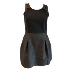 Mini Dress COMPTOIR DES COTONNIERS Black