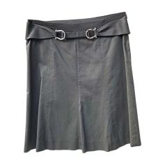 Midi Skirt CÉLINE Gray, charcoal