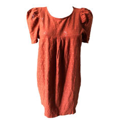 Robe courte SESSUN Orange