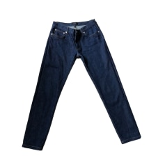 Skinny Jeans A.P.C. Blue, navy, turquoise