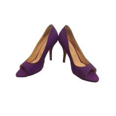 Peep-Toe Pumps TARA JARMON Purple, mauve, lavender