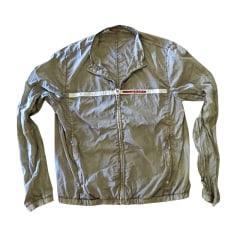 Zipped Jacket PRADA Beige, camel