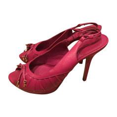 Sandali con tacchi DIOR Rosa, fucsia, rosa antico