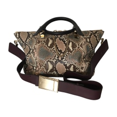 Leather Shoulder Bag CHLOÉ Animal prints