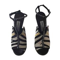 Sandales compensées JIMMY CHOO Multicouleur