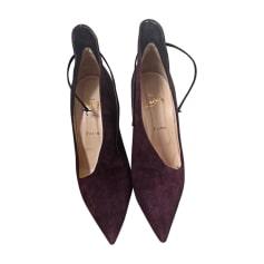 High Heel Ankle Boots CHRISTIAN LOUBOUTIN Purple, mauve, lavender