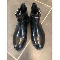 Bottines & low boots plates SAN MARINA Noir