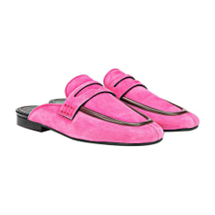 Loafers ISABEL MARANT Pink, fuchsia, light pink