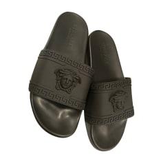 Sandals VERSACE Black