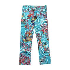 Pantalone slim, a sigaretta BLUMARINE Multicolore