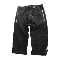 Pantalone a pinocchietto BALMAIN Nero