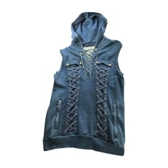 Felpa BALMAIN Blu, blu navy, turchese