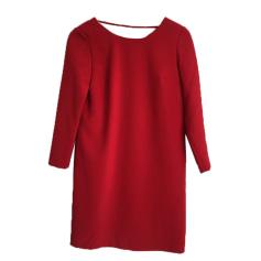 Rückenfreies Kleid BA&SH Rot, bordeauxrot