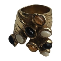 Ring YVES SAINT LAURENT Golden, bronze, copper