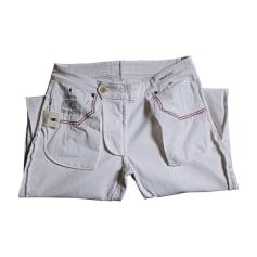 Skinny Jeans DE FURSAC White, off-white, ecru