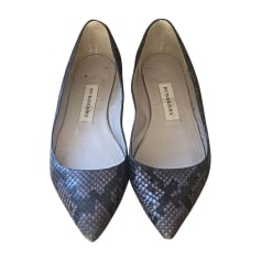 Ballerines BURBERRY Gris, anthracite