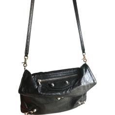 Leather Clutch BALENCIAGA Black