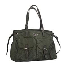 Non-Leather Handbag PRADA Green
