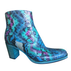 High Heel Ankle Boots FREE LANCE Multicolor