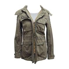 Zipped Jacket PHILIPP PLEIN Khaki
