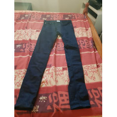 Jeans slim BONNE GUEULE Bleu, bleu marine, bleu turquoise