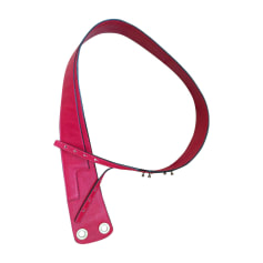 Wide Belt KENZO Red, burgundy