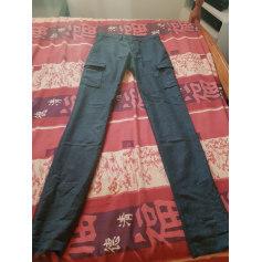 Pantalon slim BONNE GUEULE Gris, anthracite