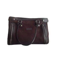 Non-Leather Handbag LONGCHAMP Brown