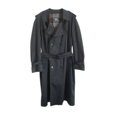 Waterproof, Trench BURBERRY Blue, navy, turquoise