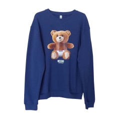 Sweatshirt MOSCHINO Blue, navy, turquoise