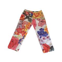 Pantalon droit TARA JARMON Multicouleur