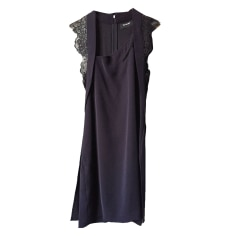 Midi-Kleid THE KOOPLES Blau, marineblau, türkisblau