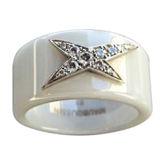 Ring MAUBOUSSIN White, off-white, ecru