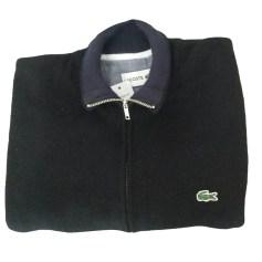 Vest, Cardigan LACOSTE Black