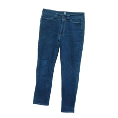 Pantalon droit MARITHÉ ET FRANÇOIS GIRBAUD Bleu, bleu marine, bleu turquoise